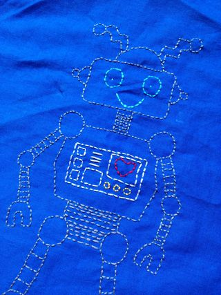 Robot Embroidery Sampler