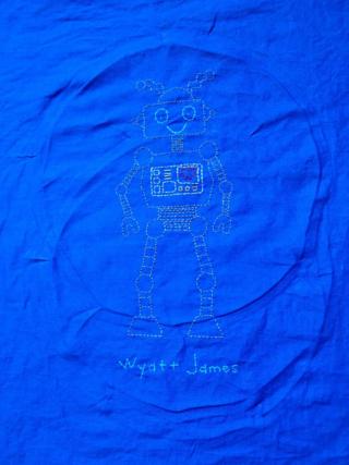 Robot Embroidery Sampler